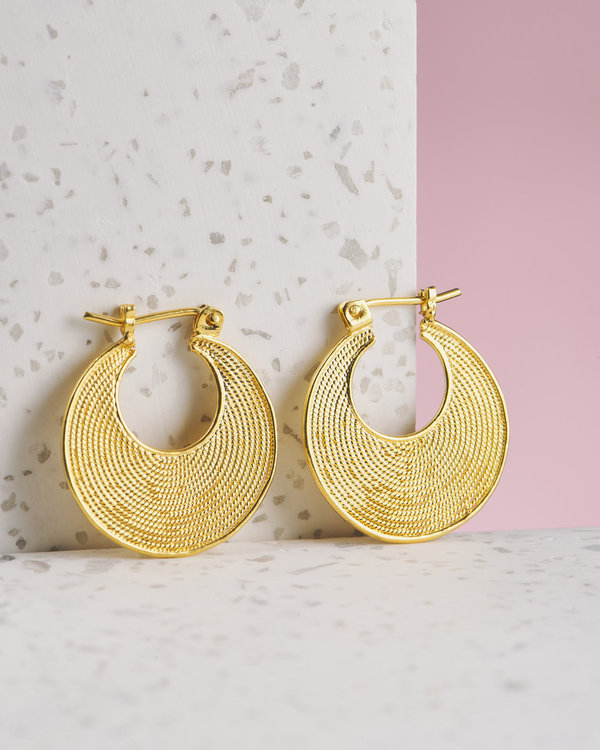Lovina Earrings Gold