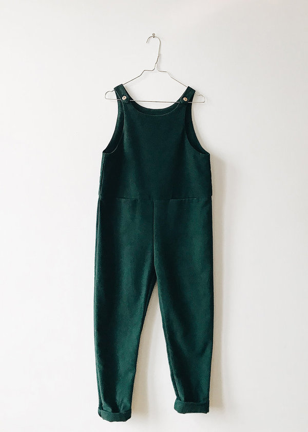 MONKIND - Moss Playsuit