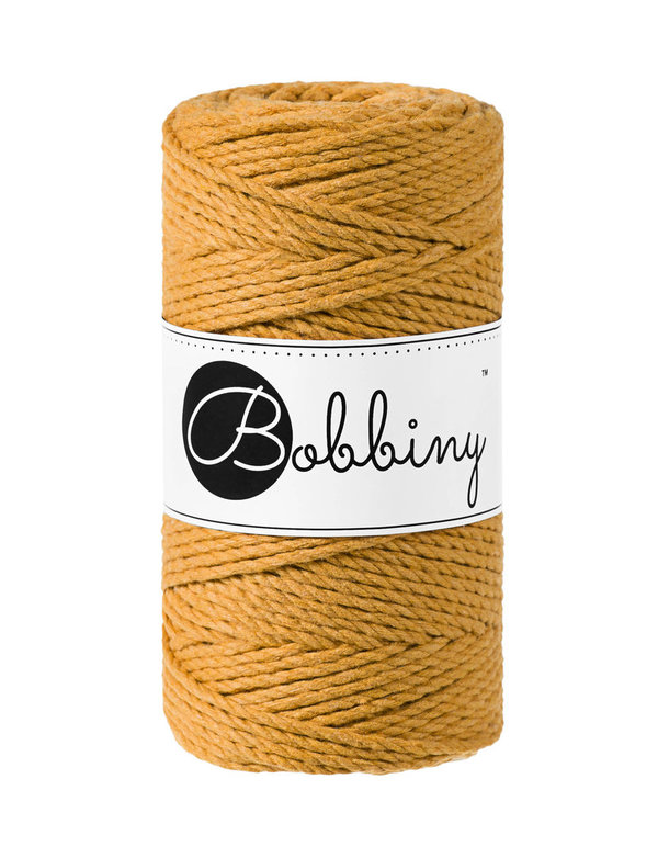 Bobbiny - 3ply 3mm MUSTARD