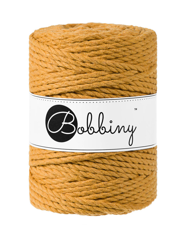 Bobbiny - 3ply 5mm MUSTARD