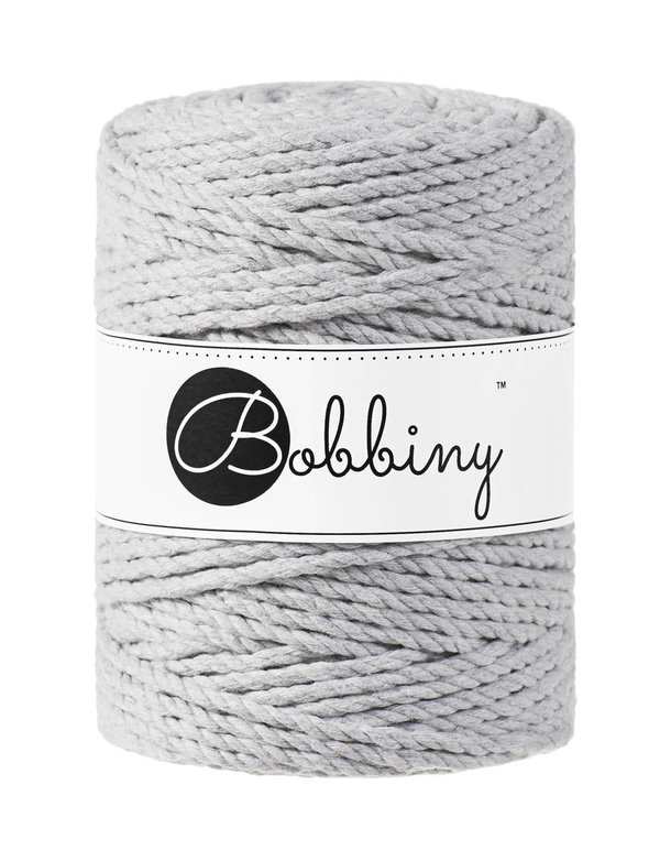 Bobbiny - 3ply 5mm LIGHT GREY