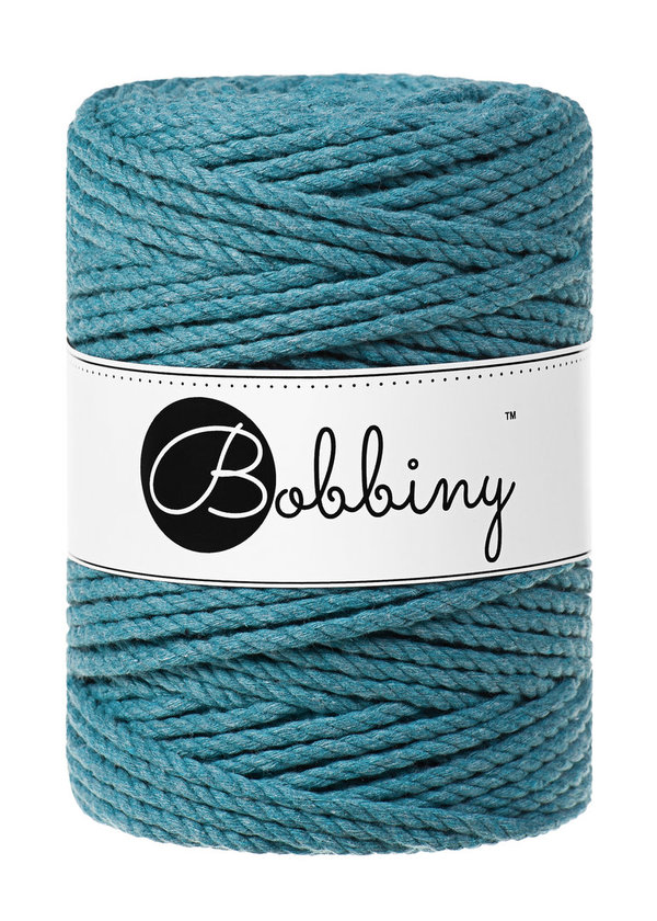 Bobbiny - 3ply 5mm TEAL